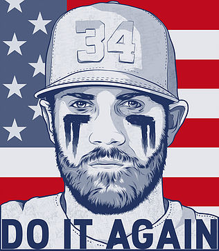 "Bryce Harper for ""500 Level"""