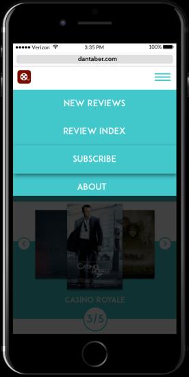 dan menu mobile